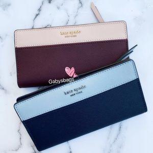 Gaby'sBags♠️💕NWT Kate Spade Bifold Wallet